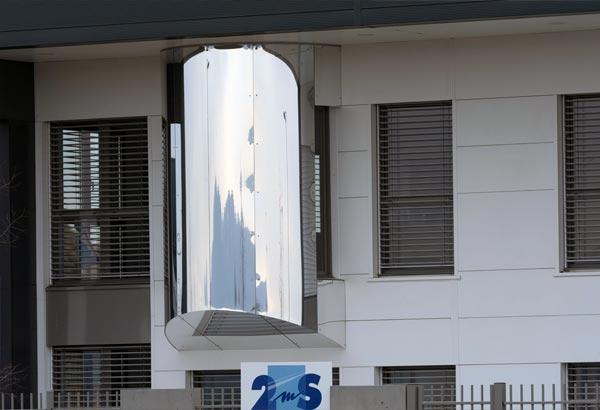 éalisation de menuiseries aluminium extérieures Installux avec BSO à 2MS Valence vue de face