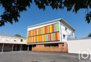 Travaux au groupement scolaire de Chabeuil par Bonhomme Métallerie