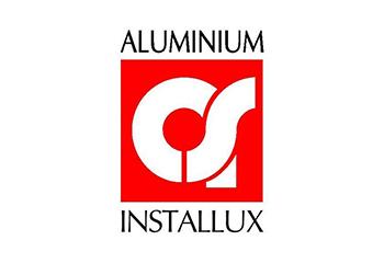 Logo aluminium installux